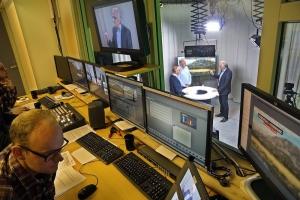 Hallingdølen, valgsending på nett-TV.